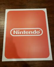 TOYS R US NINTENDO  STORE DISPLAY SIGN 2 X 3 FT RARE HARD PLASTIC
