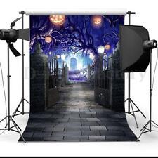 5x7ft Halloween Porte Toile de Fond Tissu Studio Backdrop Prop Photographie Déco