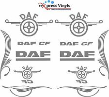 DAF truck decal MEGA PACK CF style vinyl glass and bodywork graphic stickers