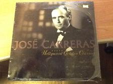 LP JOSE CARRERAS HOLLYWOOD GOLDEN CLASSIC SIGILLATO CAT. WX 416 GERMANY 1991 BSS