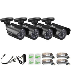 Tonton 1000TVL 960H CCTV Security 720P AHD Camera kit IR 3.6mm Waterproof Night