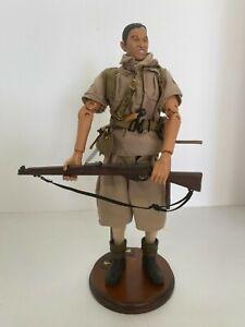 21st Century 9th Gurkhas Rifles WWII 1/6 Scale Figure PARTS READ