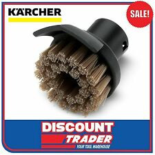 Karcher Round Brush + Dirt Scraper for Steam Cleaner SC 1 2 3 4 5 - 2.863-140.0