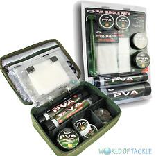 PVA Bundle & Storage Wallet Wide Narrow Mesh String Tape Bags Plunger & Refills