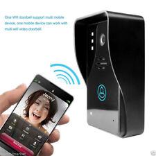 Wireless WiFi DoorBell Video Camera Smart Door Phone Visual Intercom Monitor New
