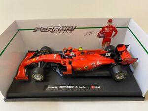 Bburago Charles Leclerc Ferrari SF90 No.16 Formula - Rot (2019) F1 Formel1, 1:18