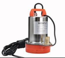 125W 1584GPH Solar Submersible Water Pump 12V for Farm Garden DC Well Pump
