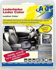 Lederfarbe Echt Leder Kunstleder Sitze Verkleidungen auffrischen färben SCHWARZ