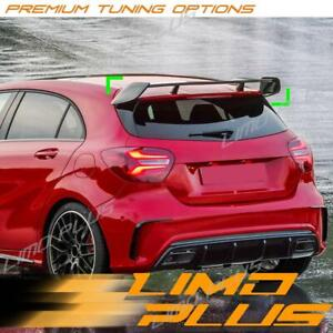Gloss Black Rear Trunk Roof Spoiler for Mercedes-Benz A Class W176 A45 AMG