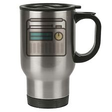 Geek Travel Mug - Portable Radio Transitor - Thermal Eco - Stainless Steel