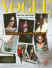 Vogue India 12/09,Trend Report,December 2009,NEW