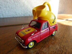beau jouet miniature 1/43 Renault R4 Tour de France Cycliste sirop Berger