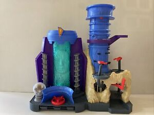 Mighty Morphin Power Rangers Imaginext Command Center MMPR Toy Playset Lights Up