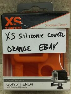 XSories Silicone Cover for GoPro HERO4 ORANGE NEW!!! **pls read details**