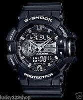 GA-400GB-1A Black G-Shock 200m Digital Resin Band 200m Casio Sport Men's