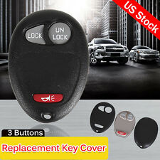 Replacement Keyless Entry Remote Key Cover Shell Case for Chevrolet GMC Hummer