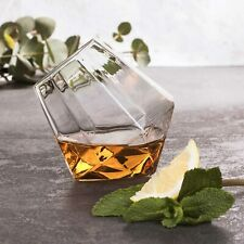 Diamond Whisky Glas in Diamant Form - Edles für die Bar und Theke - Thumbs Up