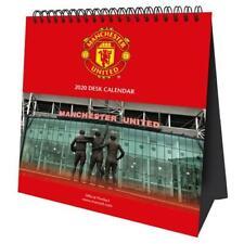 New Manchester United Man Utd FC 2020 Desktop Calendar Christmas Gift