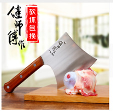 Kitchen Knife Boning Butcher Meat Processing Stainless Steel Cleaver Chef Axe