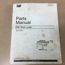 Cat Caterpillar 938k Parts Manual Book Catalog List Wheel Loader Guide Sn Swl
