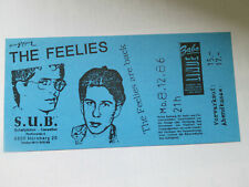 The Feelies 1986 Nürnberg Concert Ticket Konzertkarte Eintrittskarte