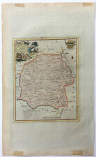 Original Copper Engraved Antique Map - Thomas Kitchin, Wiltshire 1786