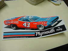 Richard Petty 1972 Plymouth by Petty   decal