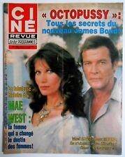 ►CINE REVUE 25/1983-ROGER MOORE-BONNIE TYLER-HELMUT BERGER-MAE WEST-VENTURA...