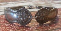 Orange Blossom - 1910 Vintage Silver Plated Silverware/Flatware Spoon Bracelet