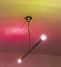 "Sobria Bauhaus Plafoniera ""CUBE"" di alta qualità in acciaio inox larghezza 108 cm"