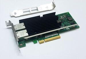 SUN / Intel X540-T2 Gigabit 10GBe 10Gbit RJ45 Dual Port Converged Server Adapter