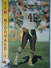 NFL 578 Tim McDonald S Safety Pacific 1992