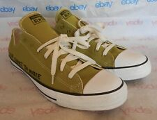 Converse Chuck Taylor All Star Ox . Life's Too Short To Waste. 11. Green 166373C