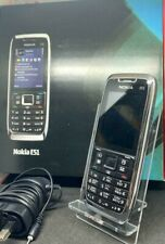 Nokia E51 - White steel (Unlocked) Smartphone