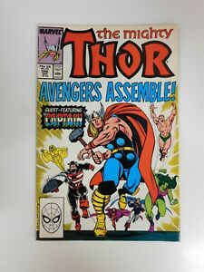 Thor #390 Steve Rogers Lifts Mjolnir VG+ condition Huge auction going on now!