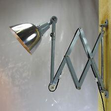 XXL 110cm MIDGARD Art Deco Fabrik Scherenlampe Werkstattlampe Industrie Design