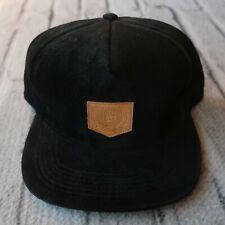 Supreme Crest Suede Snapback Hat 2010 2011 Leather Cap