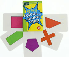 NEW The Green Board Game Co. - My First Colour & Shape Snap Cards - 5 years plus