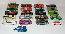 % VINTAGE HOTWHEELS AND MORE DIECAST VEHICLE COLLECTION LOT R-18