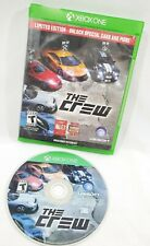 The Crew Limited Edition (Microsoft Xbox One, 2014) Game Disc New Excellent