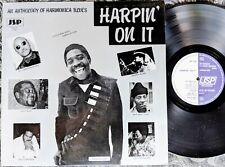 BLUES HARMONICA LP: HARPIN' ON IT Mojo Buford BILLY BRANCH Big John Wrencher JSP