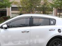 Fit For Kia Sportage 2017-2019 Window Visor Vent Rain Smoke Sun Deflectors Guard