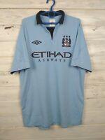 Manchester City Jersey 2012 2013 Home L Shirt Umbro Football Soccer