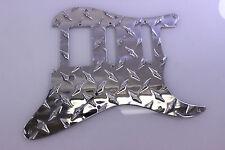 Economy Aluminum Diamond Plate HSS Strat Pickguard Fits Fender Stratocaster USA