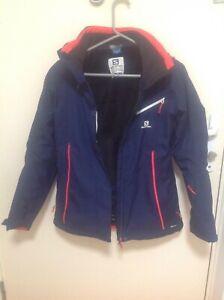 Salomon advanced skin dry skiing jacket size S