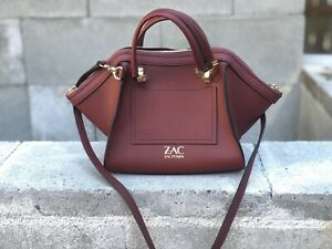 Zac Posen mini Eartha handbag in dark red