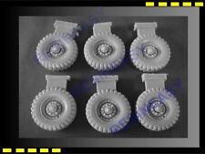 Resin model kit 1/35 DUKW wheel set -  WH001