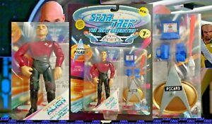 NEW 1994 Playmates Captain Picard in Duty Uniform Star Trek Next Generation Fig
