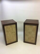Vintage Pair of KLH Bookshelf Speakers Model Nineteen Rare! 1965