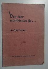 Da lì sfilare lei... Erich Kuttner 1915